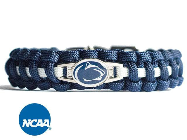 Officially Licensed Penn State Nittany Lions Paracord Bracelet
