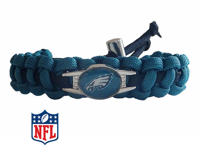 Officially Licensed NFL Philadelphia Eagles Paracord Bracelet