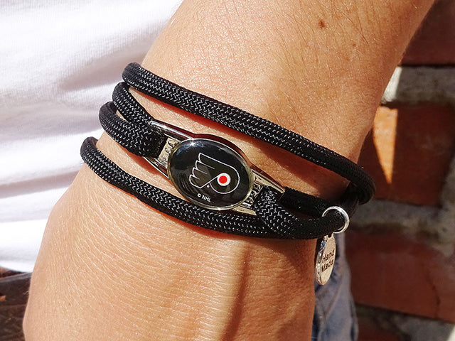 Philadelphia Flyers Officially Licensed Designer Wrap Bracelet