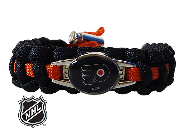 flyers bracelet philadelphia flyers paracord bracelet handmade by us 8659
