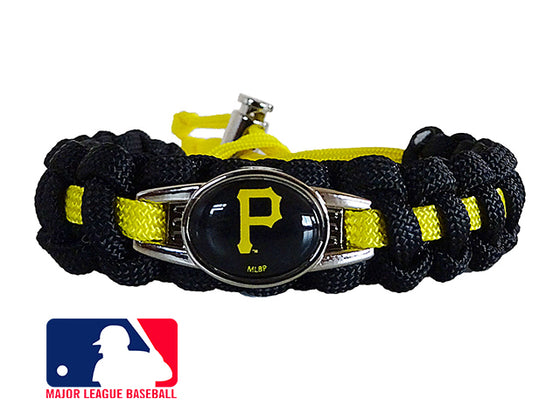 c0429d460afb4 Officially Licensed MLB Pittsburgh Pirates Paracord Bracelet
