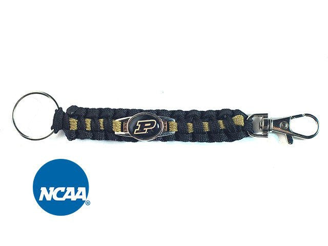 Officially Licensed Purdue Boilermakers Paracord Keychain