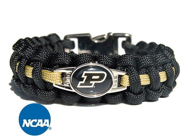 Officially Licensed Purdue Boilermakers Paracord Bracelet