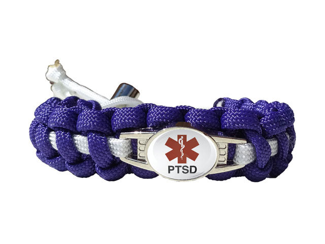 Medical Id Ptsd Paracord Bracelet Handmade By Us