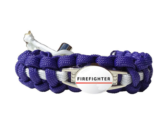 Firefighter Paracord Bracelet