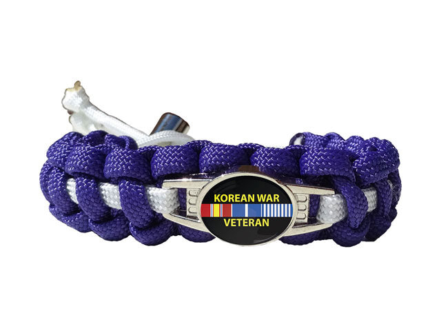 Korean War Veteran Paracord Bracelet