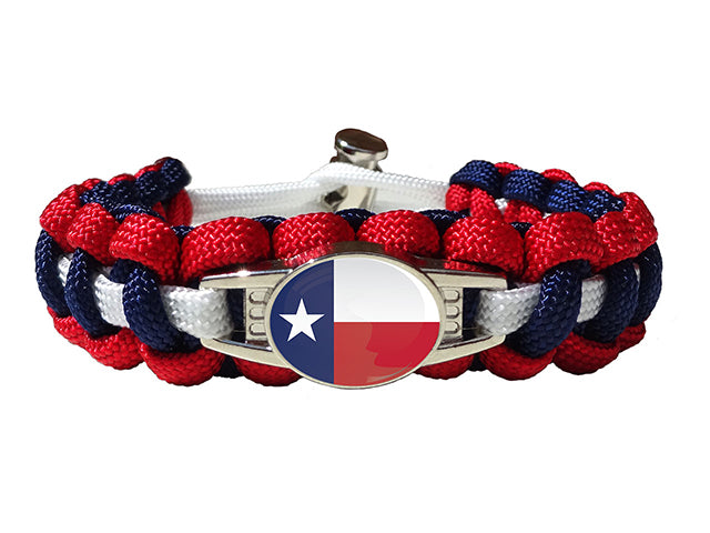 Texas State Paracord Bracelet