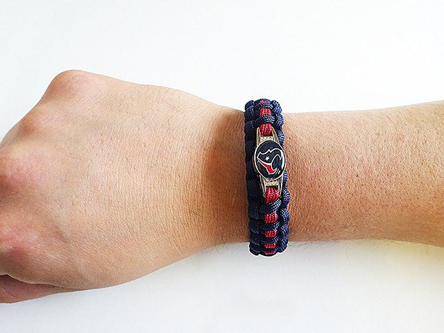 Officially Licensed NFL Houston Texans Paracord Bracelet