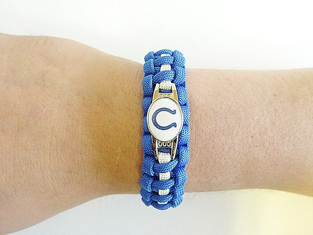 Officially Licensed NFL Indianapolis Colts Paracord Bracelet