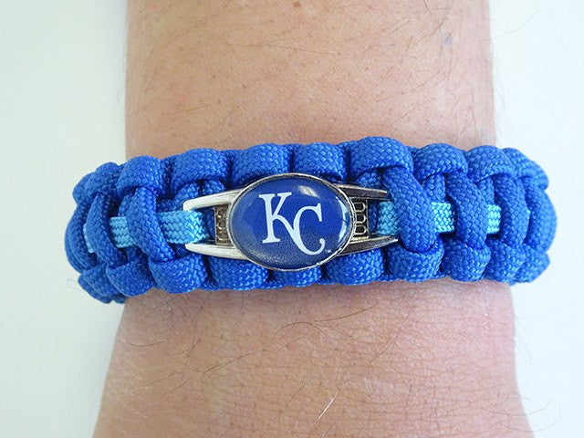 Officially Licensed MLB Kansas City Royals Paracord Bracelet