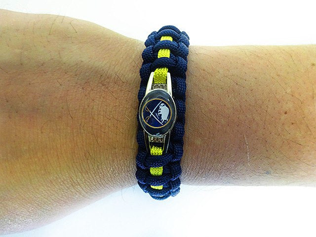 Officially Licensed NHL Buffalo Sabres Paracord Bracelet