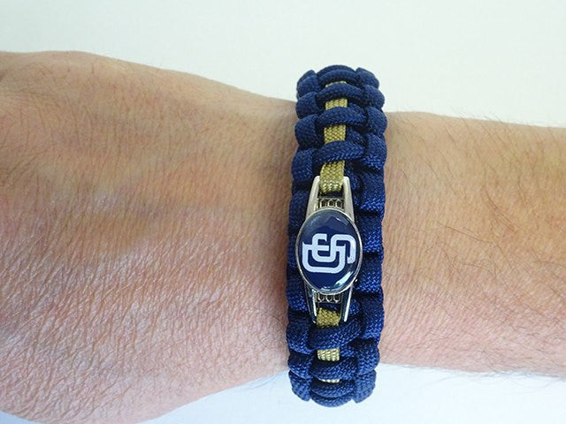 Officially Licensed MLB San Diego Padres Paracord Bracelet
