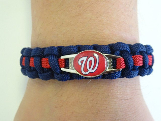 Officially Licensed MLB Washington Nationals Paracord Bracelet