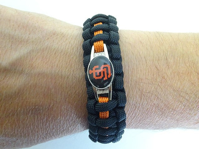 Officially Licensed MLB San Francisco Giants Paracord Bracelet
