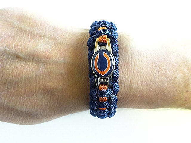 Officially Licensed NFL Chicago Bears Paracord Bracelet