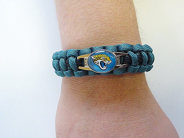 Officially Licensed NFL Jacksonville Jaguars Paracord Bracelet