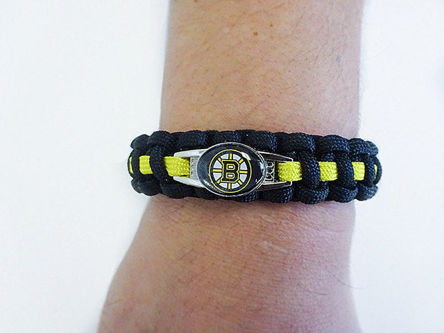 Officially Licensed NHL Boston Bruins Paracord Bracelet