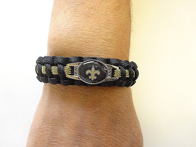 Officially Licensed NFL New Orleans Saints Paracord Bracelet