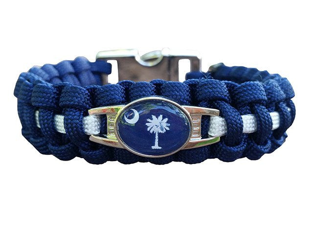 South Carolina State Paracord Bracelet