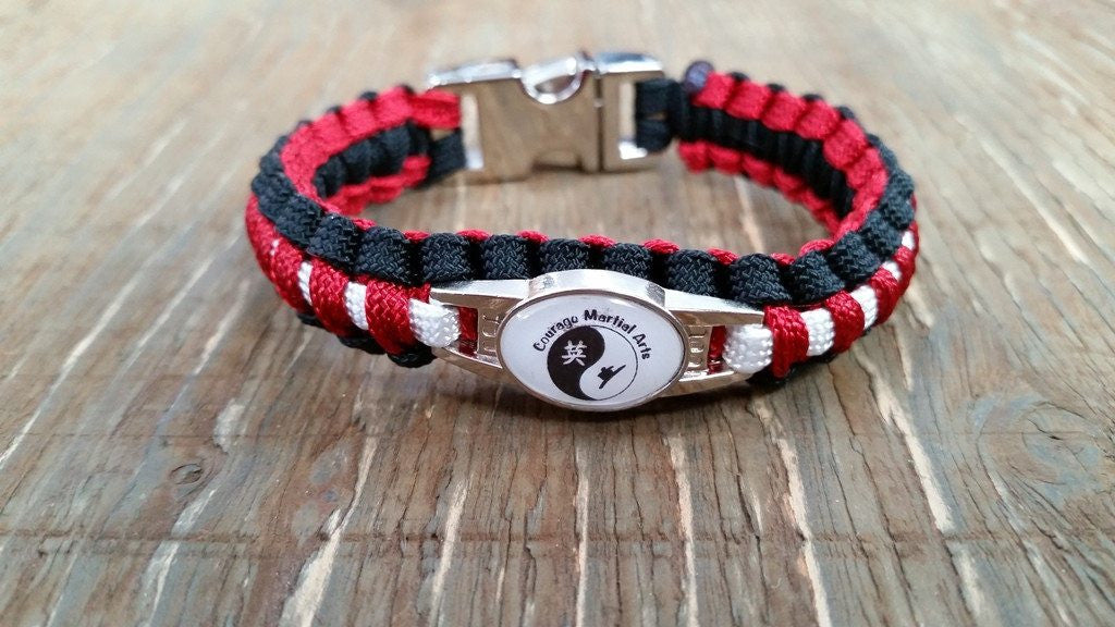 Paracord Bracelet with Custom Artwork