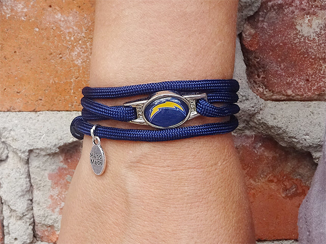 Los Angeles Chargers Officially Licensed Designer Wrap Bracelet