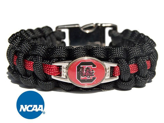 Officially Licensed South Carolina Gamecocks Paracord Bracelet