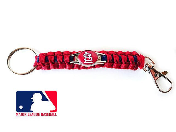 Officially Licensed MLB St Louis Cardinals Paracord Keychain