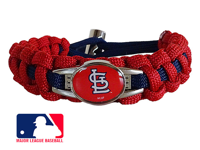 Officially Licensed MLB Saint Louis Cardinals Paracord Bracelet