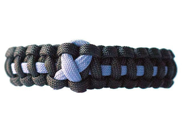 Stomach Cancer Awareness Paracord Bracelet