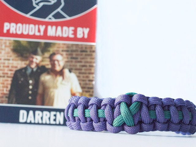 Suicide Prevention And Awareness Paracord Bracelet