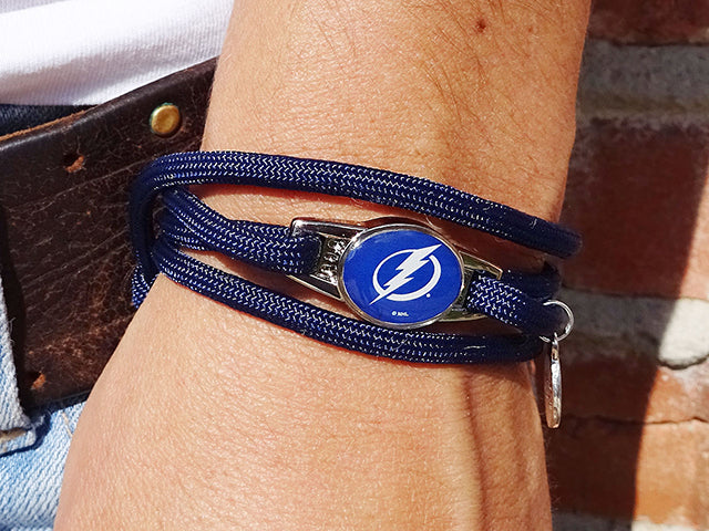 Tampa Bay Lightning Officially Licensed Designer Wrap Bracelet