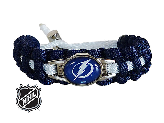 Officially Licensed NHL Tampa Bay Lightning Paracord Bracelet
