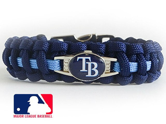 Officially Licensed MLB Tampa Bay Rays Paracord Bracelet