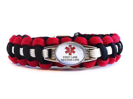 Customizable Medical ID Bracelet - Template 2