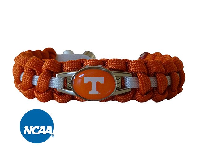 Officially Licensed Tennessee Volunteers Paracord Bracelet