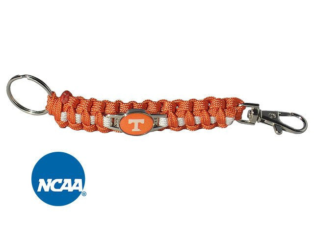 Officially Licensed Tennessee Volunteers Paracord Key Chain