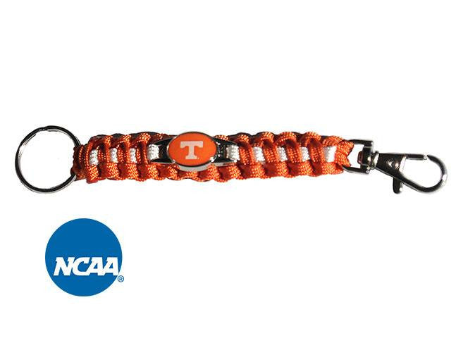Officially Licensed Tennessee Volunteers Paracord Keychain