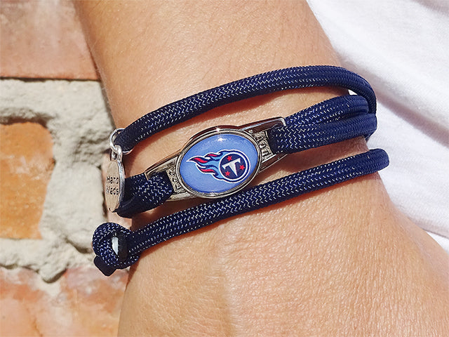 Tennessee Titans Officially Licensed Designer Wrap Bracelet