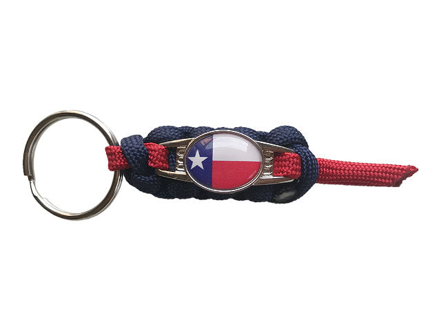 Texas State Zipper Pull