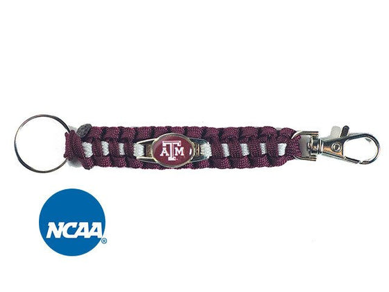Officially Licensed Texas A&M Aggies Paracord Keychain