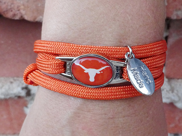 Texas Longhorns Officially Licensed Designer Wrap Bracelet