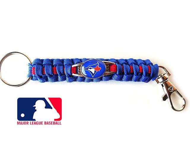 Offically Licensed MLB Toronto Blue Jays Paracord Key Fob