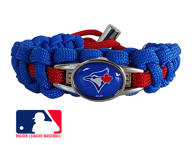Officially Licensed MLB Toronto Blue Jays Paracord Bracelet