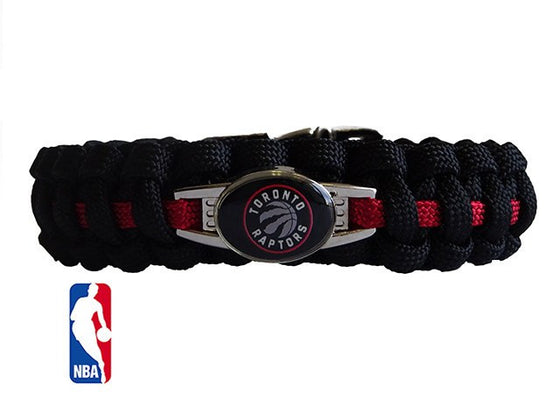 Officially Licensed NBA Toronto Raptors Paracord Bracelet