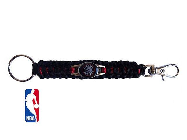 Officially Licensed NBA Toronto Raptors Paracord Keychain
