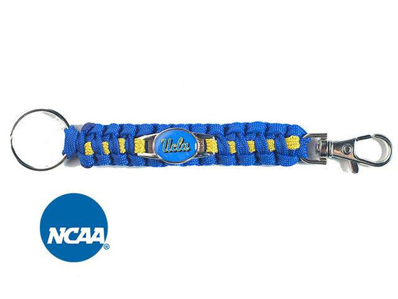 Officially Licensed UCLA Bruins Paracord Keychain