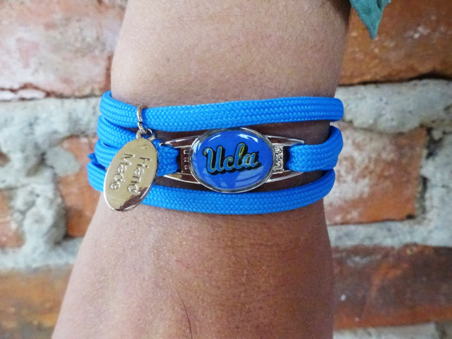 UCLA Bruins Officially Licensed Designer Wrap Bracelet