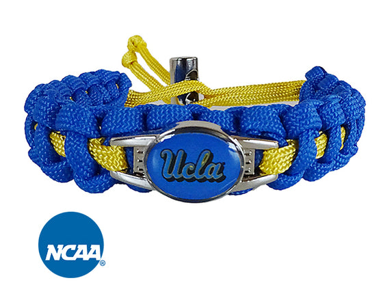 Officially Licensed UCLA Bruins Paracord Bracelet
