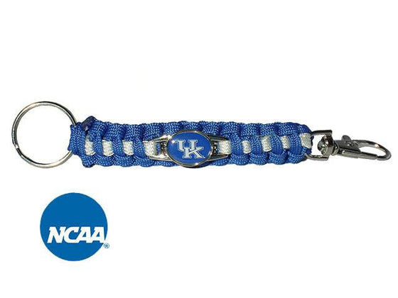 Officially Licensed Kentucky Wildcats Paracord Keychain