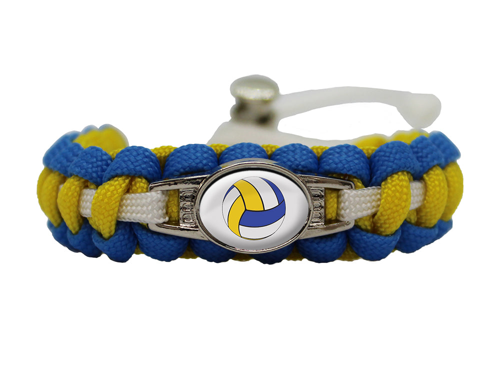 Volleyball Paracord Bracelet